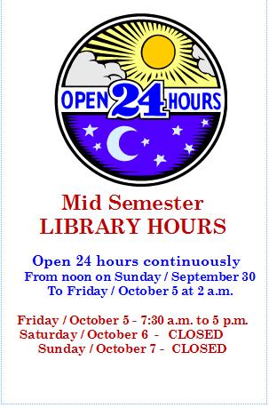 Mid Semester 24 hour Days
